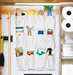 hanging-shoe-organizer-cleaning-supplies