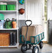 garden-cart-and-organized-garage-shelf