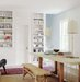 dining-room-lucite-chairs-bookshelves