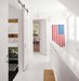 white-hallway-sliding-barn-doors-flag