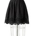 black-crochet-voile-skirt
