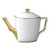 white-gold-tea-pot