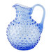 blue-hobnail-pitcher