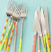 flatware-decorated-sticky-dots-place-setting