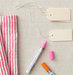 patterned-cloth-napkins-paint-pens-office-tags