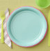 place-setting-colored-paper-plates-pinking-shears