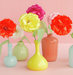 bow-flowers-colorful-vases