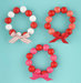 mini-gumball-wreaths