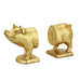 gold-pig-bookends