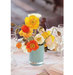 blue-vessel-orange-yellow-centerpiece