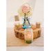 burlap-ball-jar-centerpieces