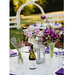 purple-bouquets-antique-lantern