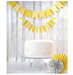 white-wedding-cake-yellow-banner
