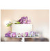 wedding-cake-real-flowers-purple