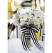 white-bouquet-black-striped-ribbon