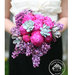bride-hot-pink-peony-bouquet
