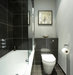bathroom-gray-walls-black-tiles