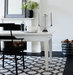 dining-table-area-rug-black-white