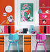 brightly-colored-home-office-flamingo
