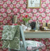 weathered-desk-chair-patterned-wallpaper