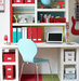 turquoise-red-white-kids-workspace