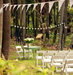 white-chairs-outdoor-wedding-ceremony