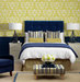 navy-yellow-accented-bedroom