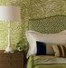 exotic-green-animal-printed-bedroom