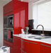 glossy-red-kitchen-cabinets