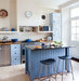 blue-kitchen-island-stools