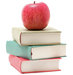 red-apple-stack-books