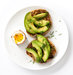 mustard-avocado-dill-english-muffin