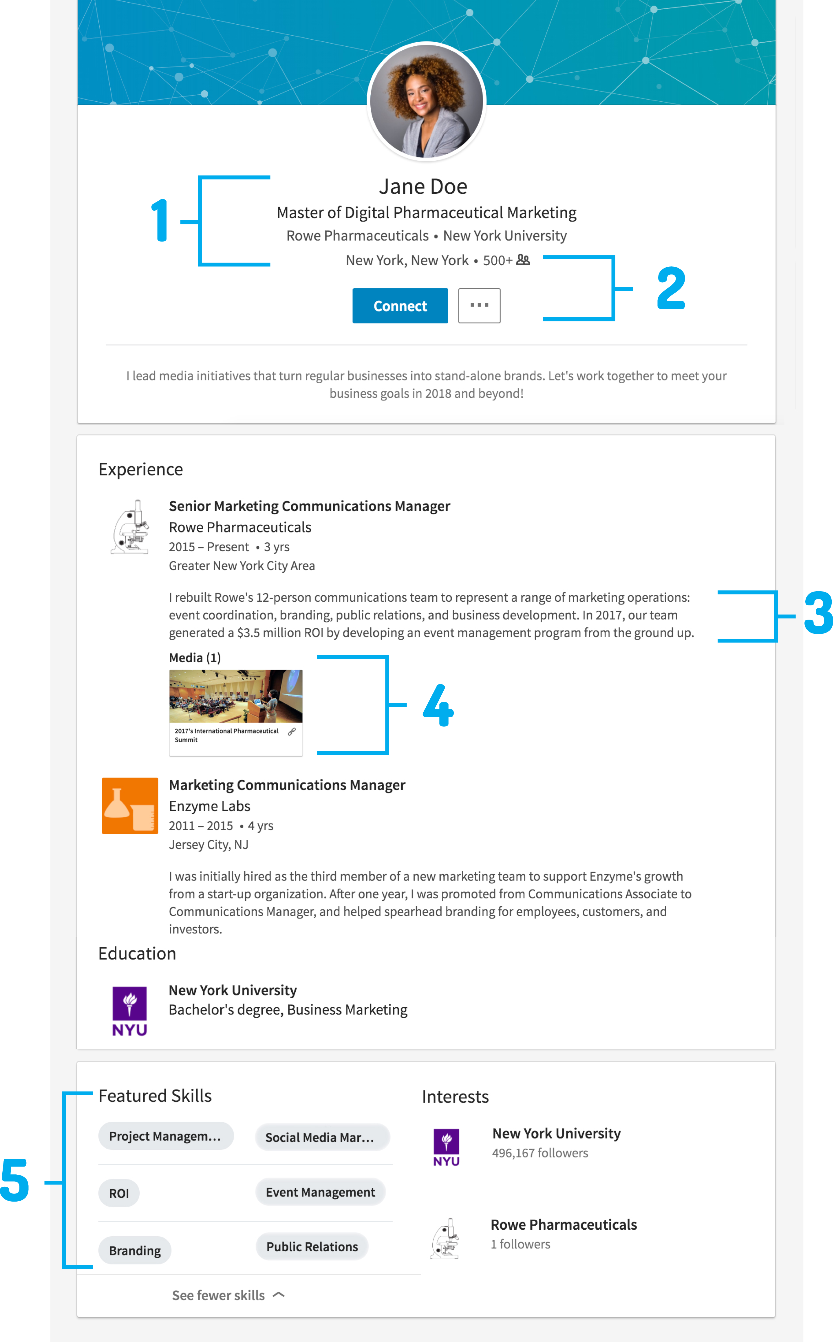 What Your LinkedIn Profile Should Look Like in 2018
