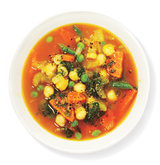 chickpea-vegetable-pesto-soup