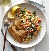 coriander-tilapia-brown-rice-vegetables
