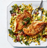 chicken-cutlets-summer-corn-succotash