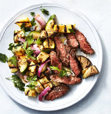grilled-skirt-steak-squash-ratatouille