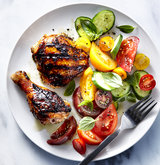 grilled-chicken-tomato-cucumber-salad