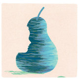illustration-blue-pear-face