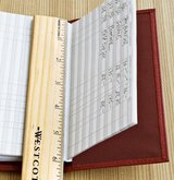 check-book-used-as-ruler