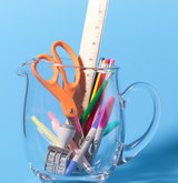 pitcher-as-office-supply-holder