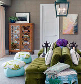 two-green-couches
