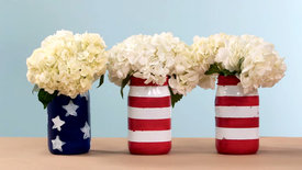 patriotic-painted-mason-jars